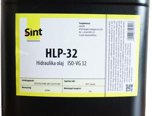 HLP 32 Hidraulika olaj 10L